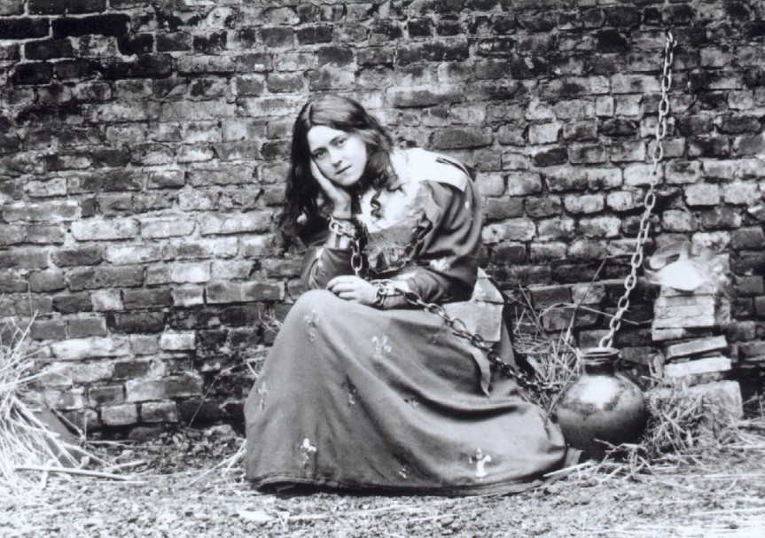 Billet d'humeur. Thérèse de Lisieux. Auteure de théâtre etcomédienne